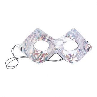 Ögonmask Disco Silver - One size