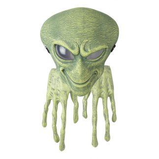 Alienmask Grön med Händer - One size