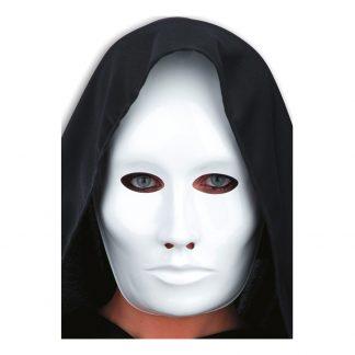 Ansiktsmask Vit i Plast - One size