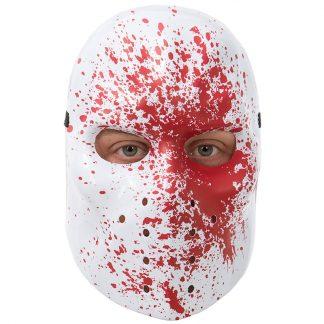 Blodig Hockeymask