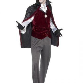Blodtörstig Vampyr Maskeraddräkt Large