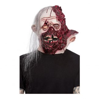 Bränt Ansikte Deluxe Mask - One size