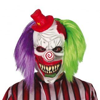 Clown med Hår Mask