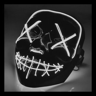 El Wire Purge LED Mask - Vit