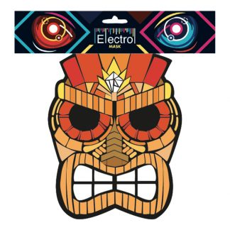 Elektronisk Mask Tiki - One size