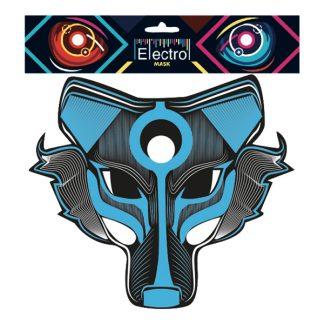 Elektronisk Mask Varg - One size