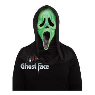 Fluorescerande Scream Mask - One size