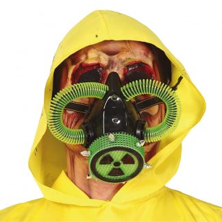 Grön Gasmask