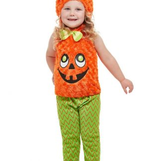 Halloween Pumpa Dräkt Barn (T1 (1-2 år))