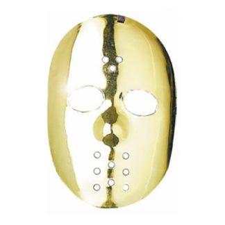 Hockeymask Metallic - Guld