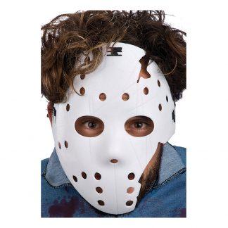 Hockeymask Trasig - One size