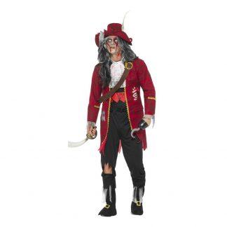 Kapten Krok Zombie Maskeraddräkt - Medium