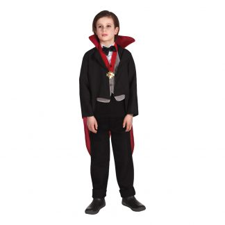 Läskig Vampyr Barn Maskeraddräkt - Small