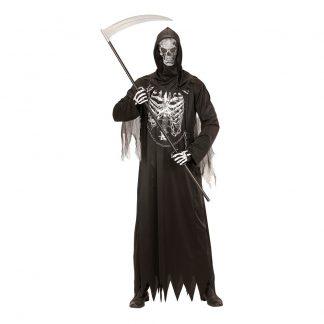 Liemannen Skelett Maskeraddräkt - Medium