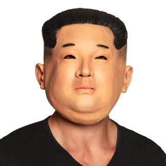 Nordkoreansk Diktator Latexmask - One size