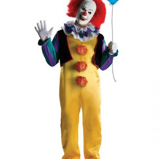Pennywise Clown Retro Maskeraddräkt Xlarge