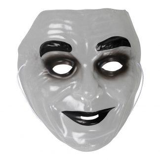 Plastmask Sminkad Man - One size