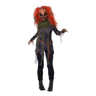 Pumpa Monster Maskeraddräkt - Medium