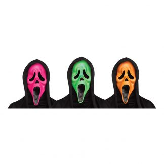 Scream UV Neon Mask - One size