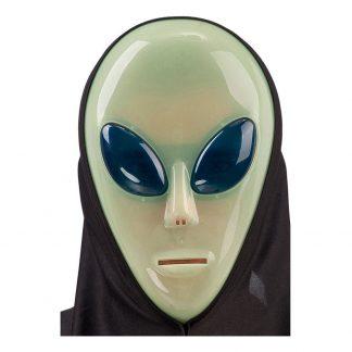 Självlysande Alien Mask - One size