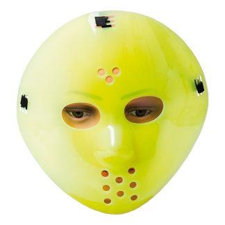 Självlysande Hockeymask - One size