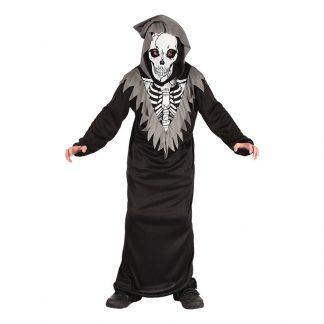 Skelett Barn Maskeraddräkt - XX-Large