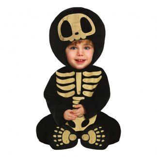 Skelett Bebis Maskeraddräkt - 12-18 månader