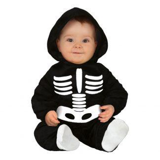 Skelett Bebis Maskeraddräkt - 12-24 månader