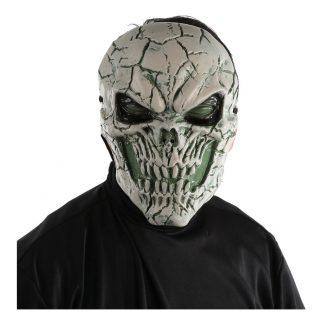 Skelettmask LED med Sprickor - One size