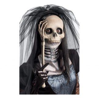 Skelettmask på Pinne - One size