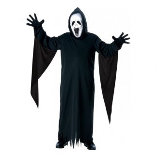 Skrikande Spöke Barn Maskeraddräkt - Large