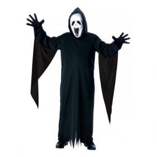 Skrikande Spöke Barn Maskeraddräkt - Small