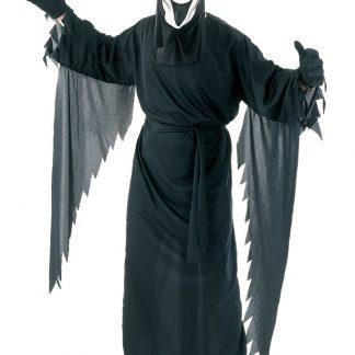Skrikande Spöke dräkt med Mask
