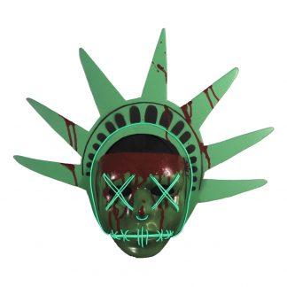 The Purge Liberty LED Mask - One size
