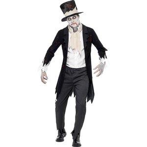 Tills döden skiljer oss åt... Zombie brudgum maskeraddräkt
