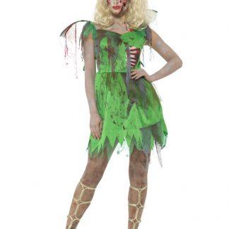 Tingeling Klänning Maskeraddräkt Zombie