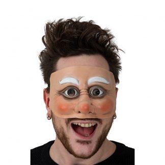 Tomteögon Latexmask