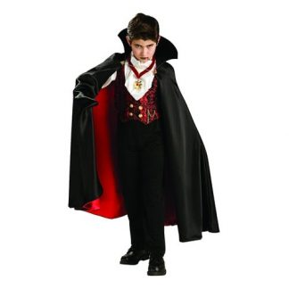 Transylvansk Vampyr Barn Maskeraddräkt - Large