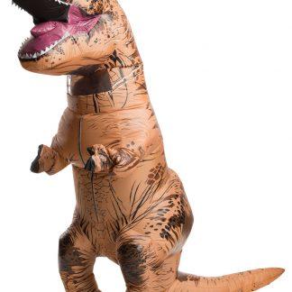 Uppblåsbar T-Rex Maskeraddräkt