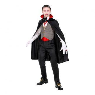 Välklädd Vampyr Barn Maskeraddräkt - X-Large