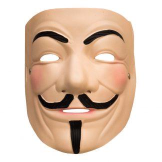 V For Vendetta Latexmask - One size