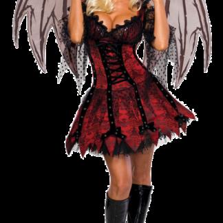 Vampyr Älva Maskeraddräkt
