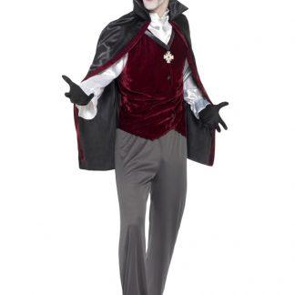 Vampyr Kostym Maskeraddräkt