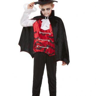 Vampyr Maskeraddräkt Barn