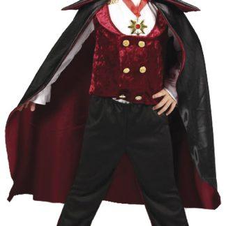 Vampyr Maskeraddräkt Barnstorlek, 134-140