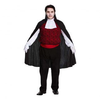 Vampyr Plus-size Maskeraddräkt - XL