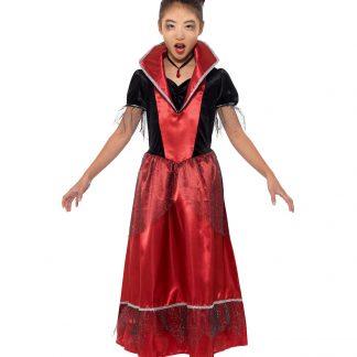 Vampyr Prinsessa Maskeraddräkt Barn, SMALL