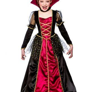 Vampyr Prinsessa Maskeraddräkt Barn (Small (3-4 år))