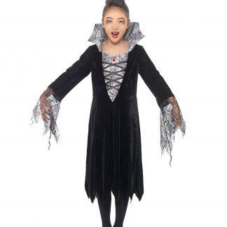Vampyr Spindel Maskeraddräkt Barn, SMALL
