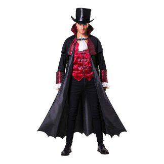 Vampyr med Rock Maskeraddräkt - One size